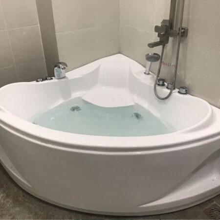 Bon tam BT12B 1 450x450 - Bồn tắm góc Arcylic 1m2 BT12B