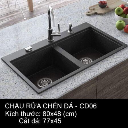CD06 1 450x450 - Chậu rửa chén đá VN sản xuất CD06