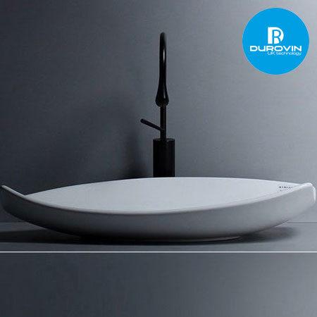 lavabo thuyen 2 trang 450x450 - Durovin - Tổng kho phân phối thiết bị vệ sinh nhà tắm, nhà bếp
