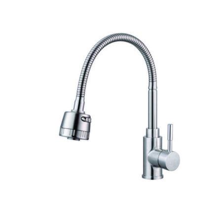 K6003 450x450 - Vòi rửa chén nóng lạnh inox 304 K6003