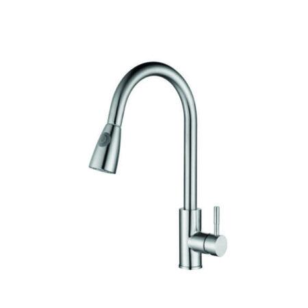 K6009 450x450 - Vòi rửa chén nóng lạnh inox 304 K6009
