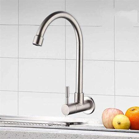 K7011 450x450 - Vòi rửa chén lạnh inox 304 K7011