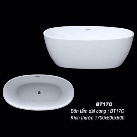 BT17O 1 450x450 - Bồn tắm nằm kích thước 1m7 BT17O
