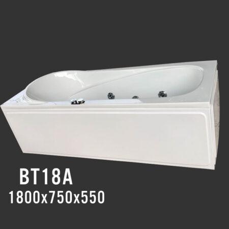 BT18A 450x450 - Bồn tắm nằm kích thước 1m8 BT18A