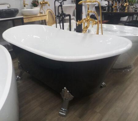 Chanrong CRV001D2 2 450x395 - Bồn tắm chân rồng màu đen BTC001 1700x800