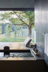 khong gian bon tam xay 6 200x300 - Một số không gian bồn tắm xây đẹp