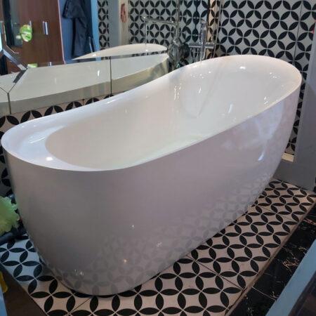 BSZ B839 450x450 - Bồn tắm nằm màu trắng chất liệu Arcylic BSZ-B839