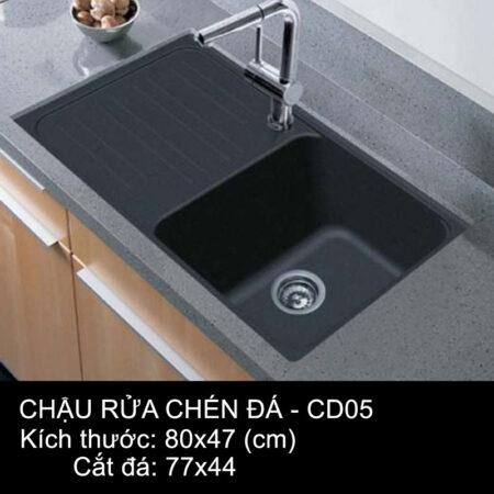 CD05 1 450x450 - Chậu rửa chén đá VN sản xuất CD05