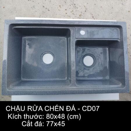 CD07 1 450x450 - Chậu rửa chén đá VN sản xuất CD07