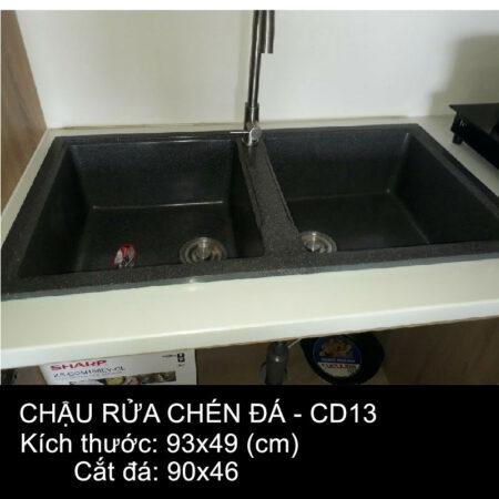 CD13 1 450x450 - Chậu rửa chén đá VN sản xuất CD13