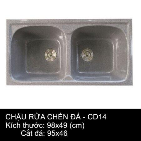 CD14 1 450x450 - Chậu rửa chén đá VN sản xuất CD14