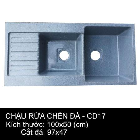 CD17 1 450x450 - Chậu rửa chén đá VN sản xuất CD18