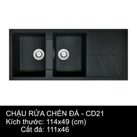 CD21 1 450x450 - Chậu rửa chén đá VN sản xuất CD21