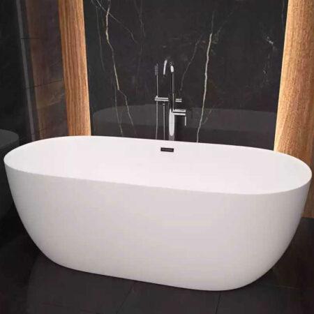 BSZ B835 2 450x450 - Bồn tắm nhập khẩu oval BSZ-B835